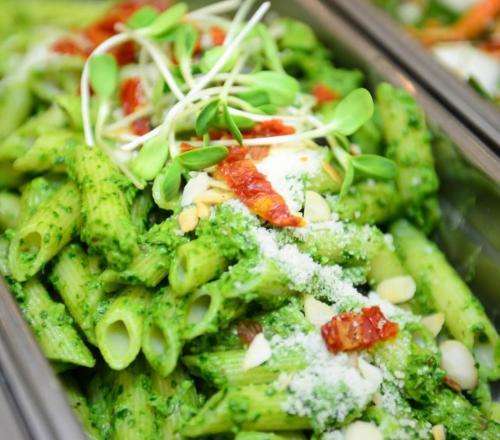 GF Pesto pasta salad